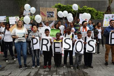 Las protestas se registraron en distintos puntos de Caracas.