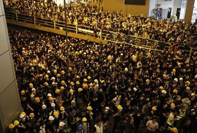 Cientos de personas volvieron a salir a las calles.