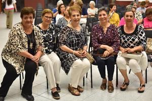 21062019 Martha, Celina, Luz Elena, Raquel y Rosario.