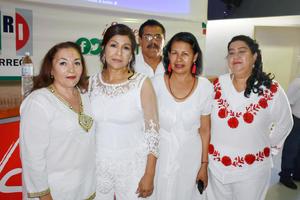 21062019 María Guadalupe, Katy, Raúl, Luz y Gricelda.