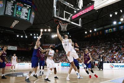 Real Madrid se proclama campeón en la Liga de Baloncesto de España