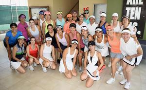 Amigas tenistas