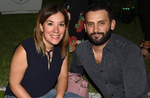 Cristina Salazar y Antonio González