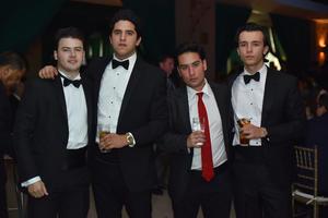 Franz, Lázaro, Luis y Vicente