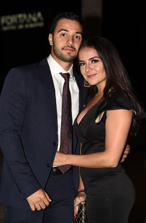 Juan Carlos y María Fernanda