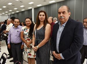 Arturo García, Alejandra Páez, Lourdes Cardona y Óscar de Santiago