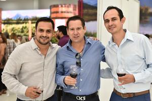 Jorge Mata, Arturo Gilio y Carlos Gómez