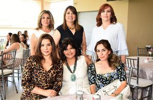 Yadira, Lorena, Olivia, Sara, Norah y Aracely
