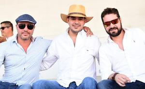 Federico, José Francisco y Damián