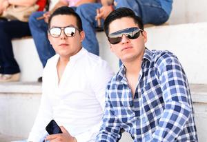 Ángel y Pedro