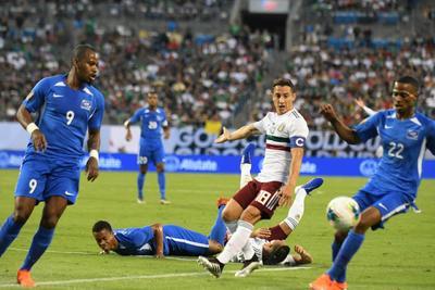 México vence a Martinica en la Copa Oro