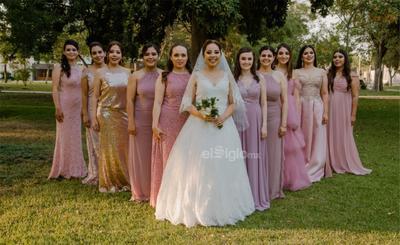 Gaby, Mariana, Janett, Ana, Fer, Karla, Angie, Paty, Paulina, Dafne y Miriam.