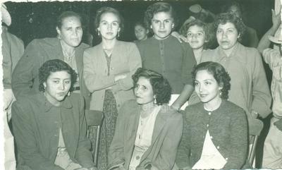 Mary Gutiérrez Alanís, Ma. Engracia Agüero, Carmen Morales de Prieto y Maestra Nico, entre otras.