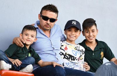 22062019 Carlos, Oriel, Max y Santi.