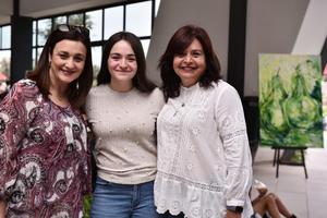 22062019 Hannya Romo, Ángela Mendoza y Larisa de Mendoza.