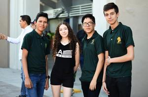 22062019 David, Daniela, Ernesto y Bernardo.