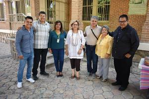 24062019 Orlando, Gerardo, Mary Carmen, Ruth, Alejandro, Margarita y Larios.