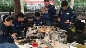 23062019 Equipo del Cervantes  representará a México en el Mundial del FIRST Global Challenge
