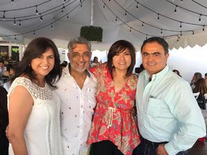 24062019 EN RECIENTE FESTEJO.  Magda, Gerardo, Gloria y Juan Carlos.