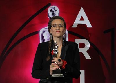 La actriz Mariana Anahi