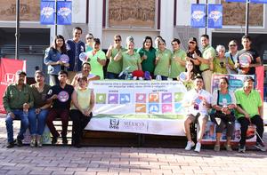 25062019 Participantes de la Campaña de donación de órgano y tejido del IMSS 71 Dando un batazo por la vida.