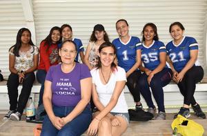 25062019 CONTENTAS.  Claudia, Valeria, Karen, Dany, Jazmín, Dana, Claudia, Denisse y Gladys.