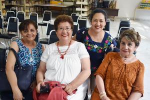 26062019 Lourdes, María Teresa, Susana y Cecilia.