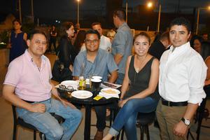 26062019 CATA A CIEGAS.  Manolo, Miguel, Lupita y Giovani.