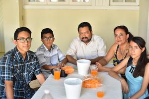 26062019 Mario Alejandro, Ángel, Mario Alberto, Alejandra y Alondra.