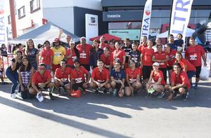 26062019 PARTICIPAN EN CARRERA ATLéTICA.  Club de corredores Catec Runners.