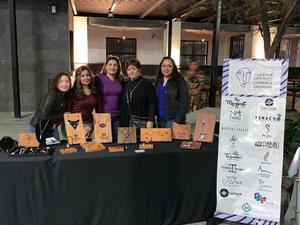 26062019 Marizol Chávez, Lily Nevárez, Alejandra Barajas, Rosa Mora y Margarita Ávila, diseñadoras del Clúster Joyero de la Comarca Lagunera.