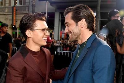 Desfilan por la alfombra roja del estreno de Spider-Man: Lejos de casa