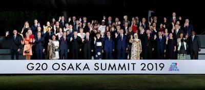 Se reúnen en la ciudad japonesa de Osaka.