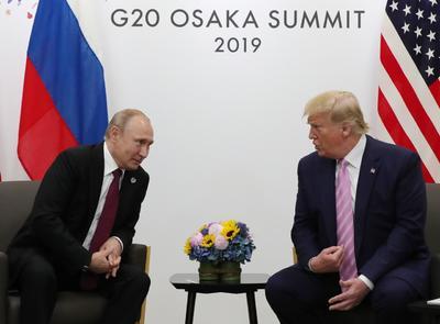 Trump sostuvo una reunión con Putin.