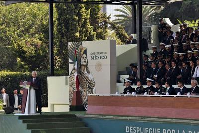 Al iniciar el despliegue formal de 70 mil elementos de la Guardia Nacional, el presidente Andrés Manuel López Obrador les pidió actuar a fondo y sin simulaciones.