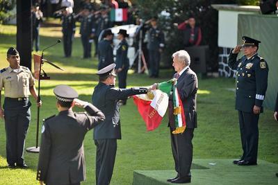 López Obrador reconoció que la seguridad es uno de los pendientes de su administración.