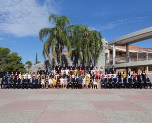 30062019 Alumnos de la Generación 2016-2019 que concluyeron sus estudios de preparatoria en el Colegio Cervantes.