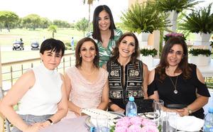 29062019 EN UNA DESPEDIDA DE SOLTERA.  Lupita, Guape, Chely, Oly y Bárbara la pasaron genial en reciente prenupcial.