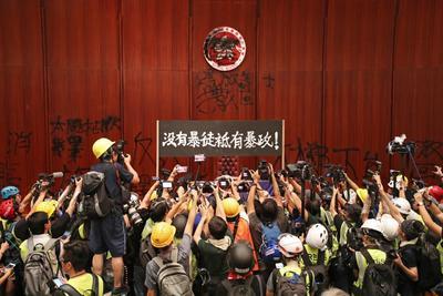 Las protestas no se detienen en Hong Kong.