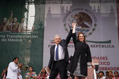 Informe de López Obrador en el Zócalo