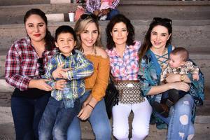 02072019 Jessica, Rubén, Eva, Erika, Tania y Miguelito.
