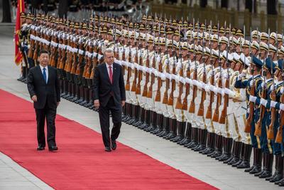 El acto se realizó en el Gran Palacio del Pueblo en Pekín.