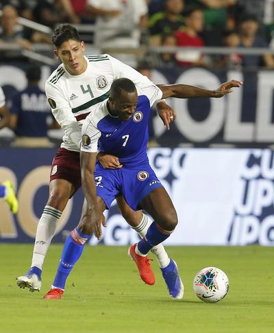 México derrota a Haití y va a la final