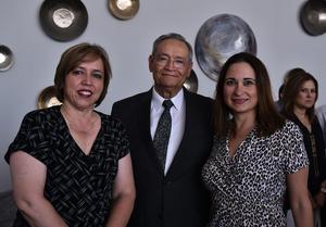 04072019 Martha Argüelles, Higinio Gonzalez y María Eugenia Villarreal.