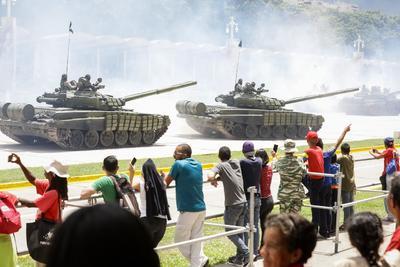 Participaron integrantes de las Fuerzas Armadas.