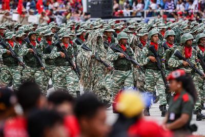 Venezuela celebró su independencia.