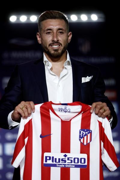 Presentan a Herrera con el Atlético de Madrid