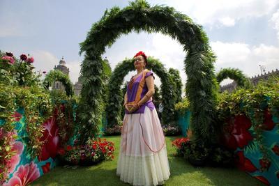 Conmemoran 112 años del natalicio de Frida Kahlo