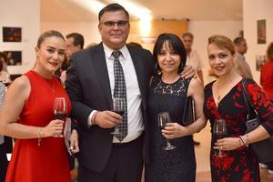 Argelia, Fernando, Ángela y Maricarmen