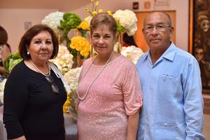 Yolanda, Josefina y Rubén